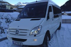 Reisebus Mercedes Benz Super Sprinter 519 Transfer